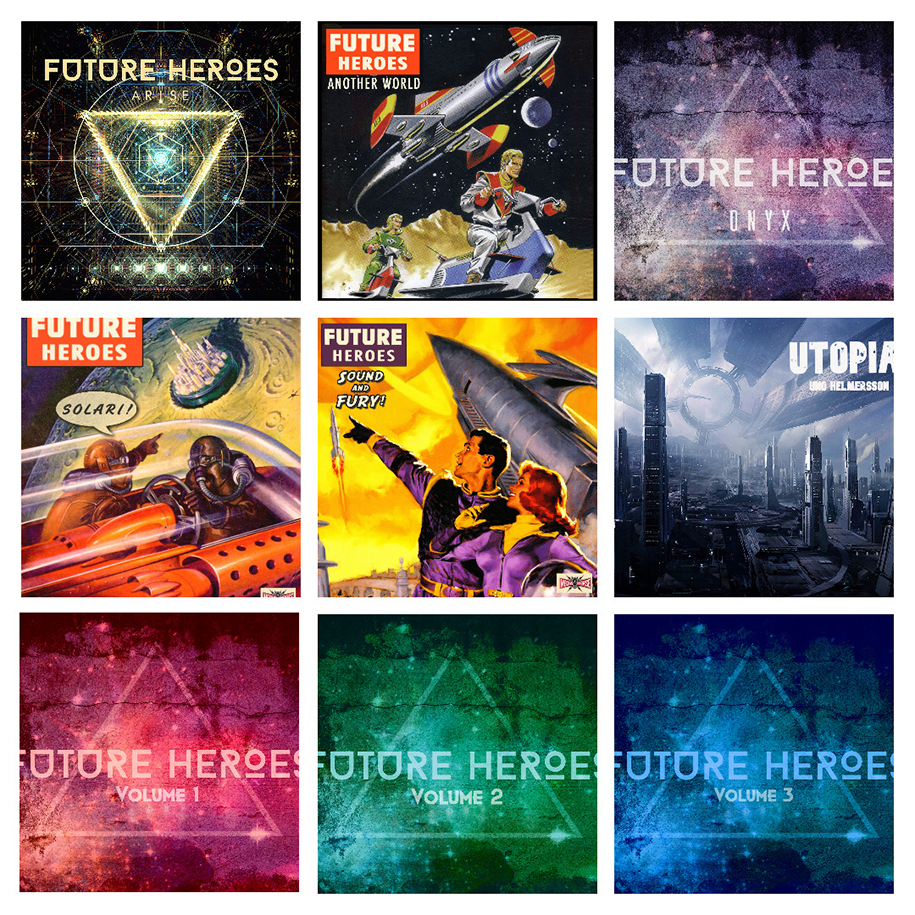 Future Heroes Trailer-Collage